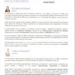 Ficha tecnica Regina Moirano y Giselle Roumec